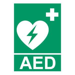 AED-Sticker (geldig voor Nederland)