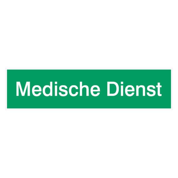 Medische Dienst Stickers