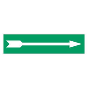 Pijl Sticker Rechthoek