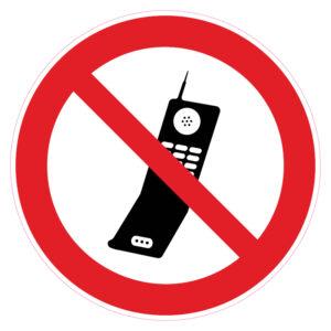 GSM-toestellen verboden