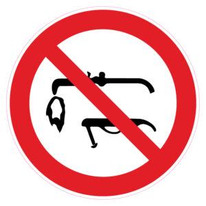 Lassen verboden