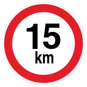 Maximum 15 km