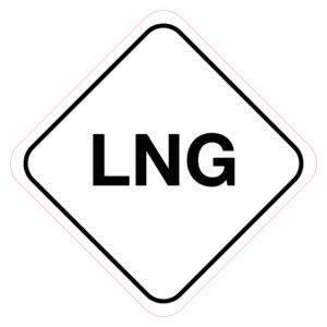 LPG-brandstofsticker