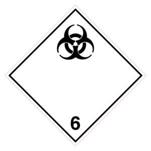 Gevaar voor besmettelijke stoffen