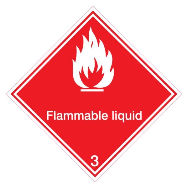 Brandbare vloeistof