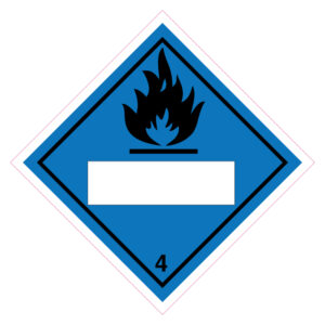 Gas ontvlambaar bij contact met water