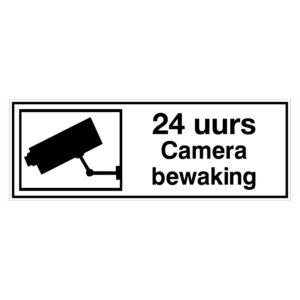 24 uur Camerabewaking
