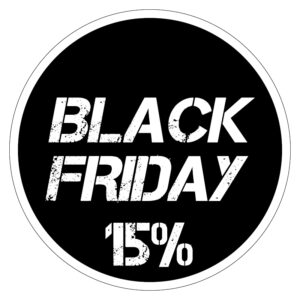 Black Friday 15% korting