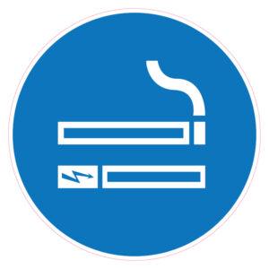 Roken+E-sigaretten toegestaan