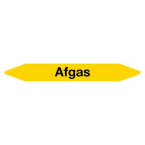 Leidingmarker Afgas