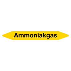 Leidingmarker Ammoniakgas