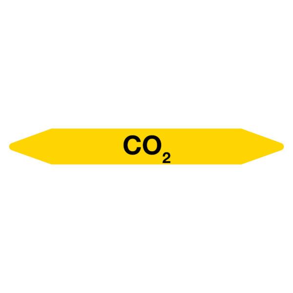 Leidingmarker CO2