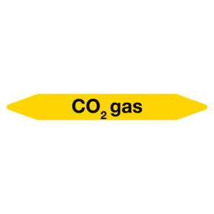 Leidingmarker CO2gas