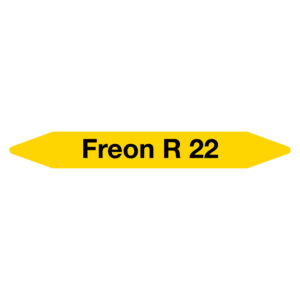 Leidingmarker Freon R22