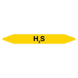 Leidingmarker H2S