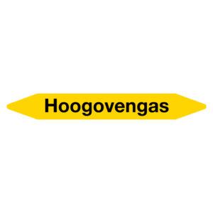Leidingmarker Hoogovengas