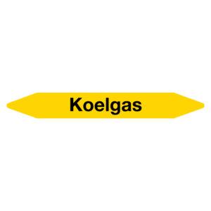 Leidingmarker Koelgas