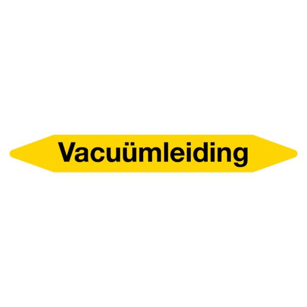 Leidingmarker Vacuumleiding