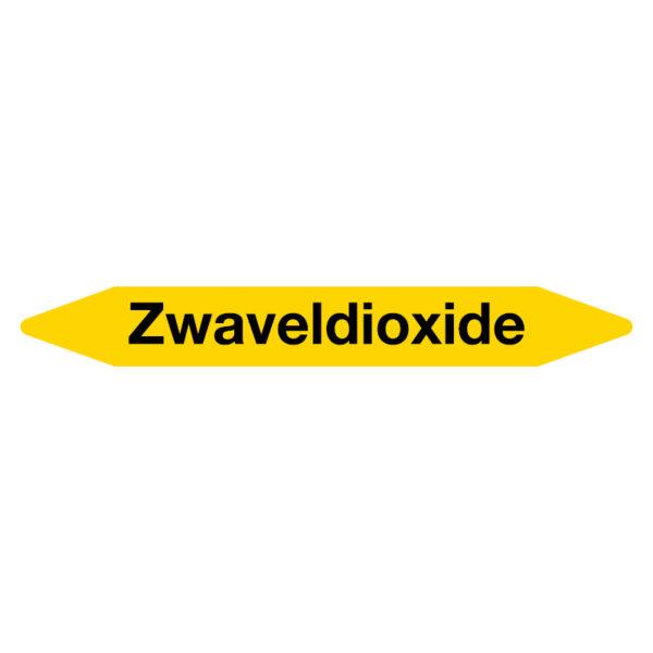 Leidingmarker Zwaveldioxide