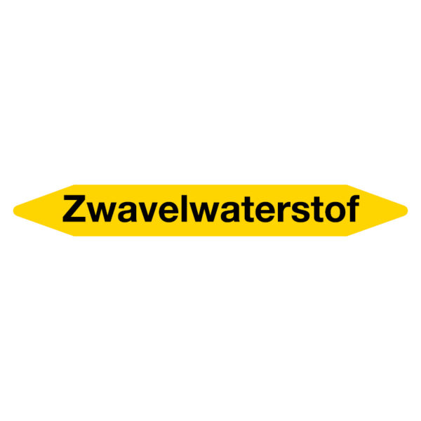 Leidingmarker Zwavelwaterstof