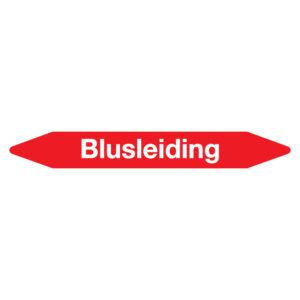 Leidingmarker Blusleiding