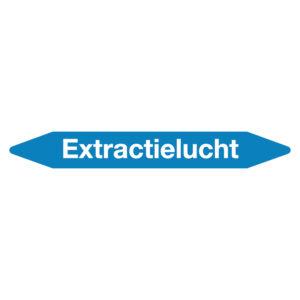 Leidingmarker extractielucht