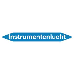 Leidingmarker instrumentenlucht