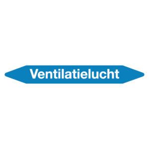 Leidingmarker ventilatielucht