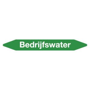 Leidingmarker bedrijfswater