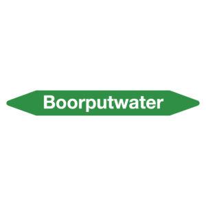 Leidingmarker boorputwater