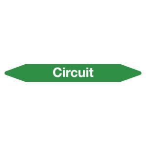 Leidingmarker circuit