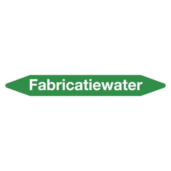 Leidingmarker fabricatiewater