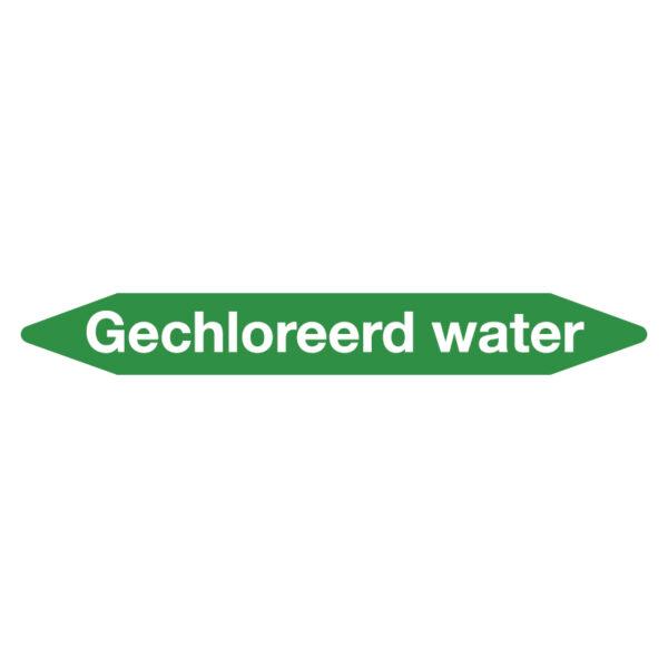 Leidingmarker gechloreerd water
