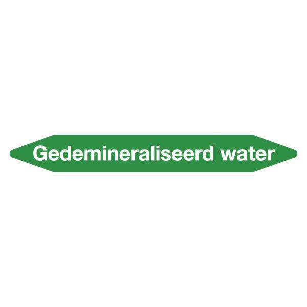 Leidingmarker gedemineraliseerd water