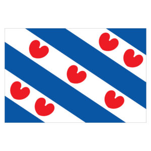 Vlagsticker Friesland