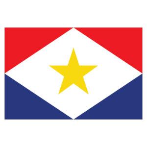 Vlagsticker Saba