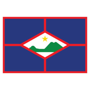 Vlagsticker Sint Eustatius