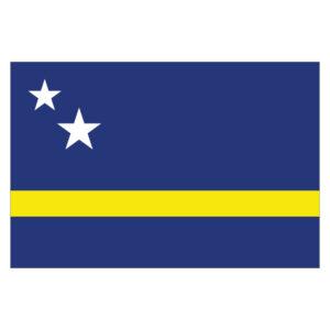Vlagsticker Curacao