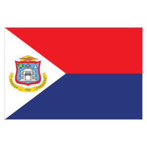 Vlagsticker Sint Maarten
