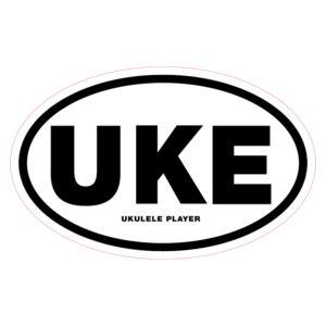 UKE Ukulele player