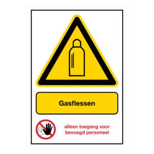 Gasflessen