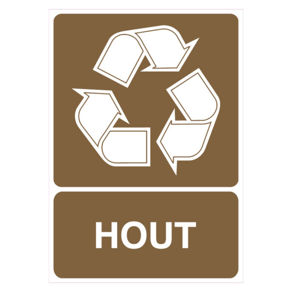Hout recycling