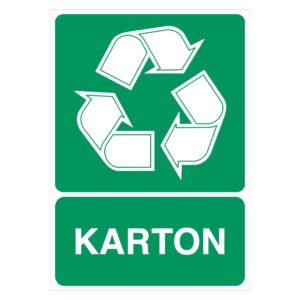Karton recycling