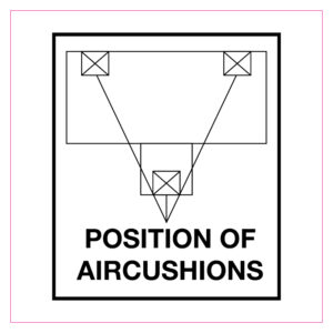 Position of aircushions