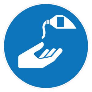 Handen desinfecteren