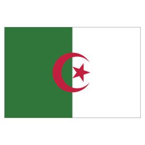 Vlagsticker Algerije