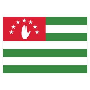 Vlagsticker Abchazie
