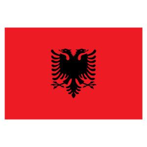 Vlagsticker Albanie