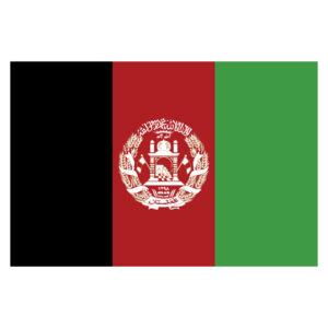 Vlagsticker Afghanistan