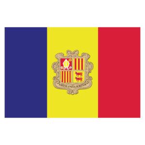 Vlagsticker Andorra